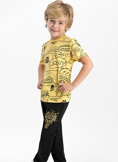 Roly Poly Pijama Takım Sarı